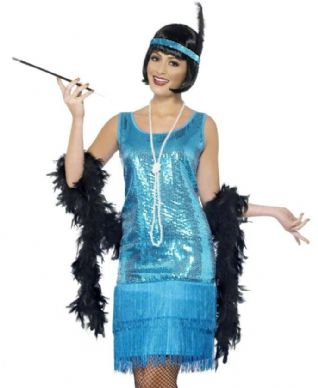 1920s Fun Time Flapper (Blue)